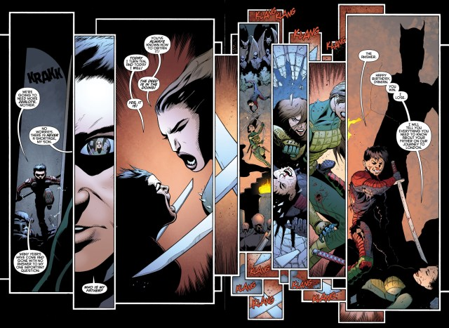 what damian wayne did to meet batman