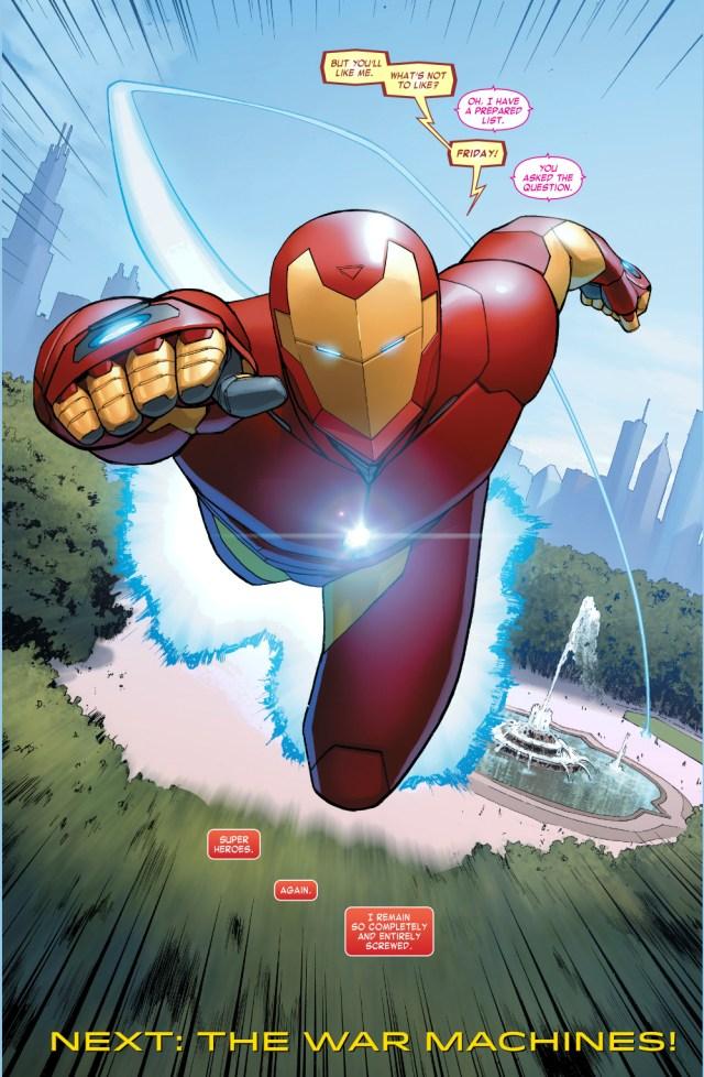 iron man (invincible iron man #5)