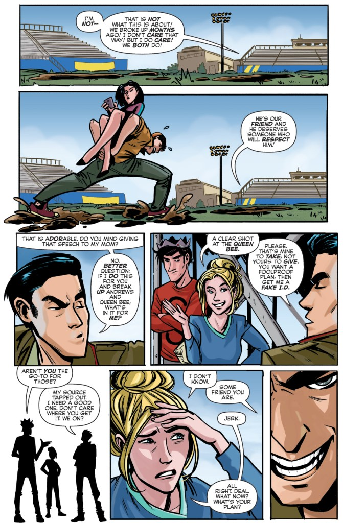 reggie mantle's plan to break up archie and veronica