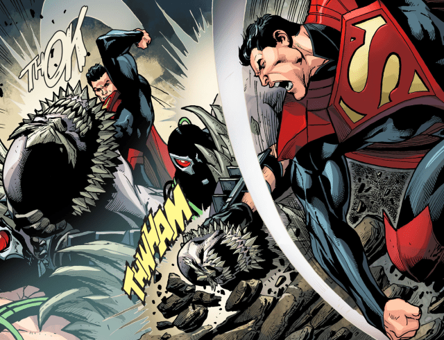 superman and bane vs doomsday