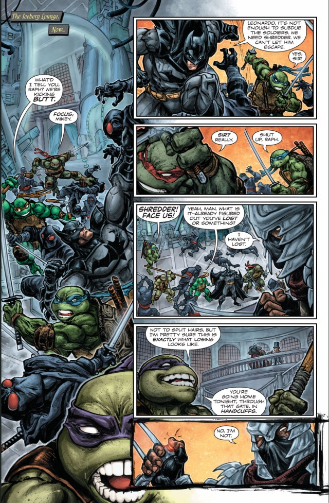 batman and teenage mutant ninja turtles team up
