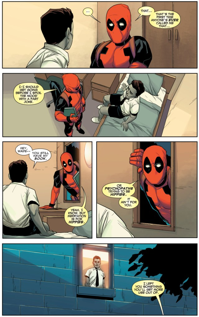 deadpool being an awesome father figure