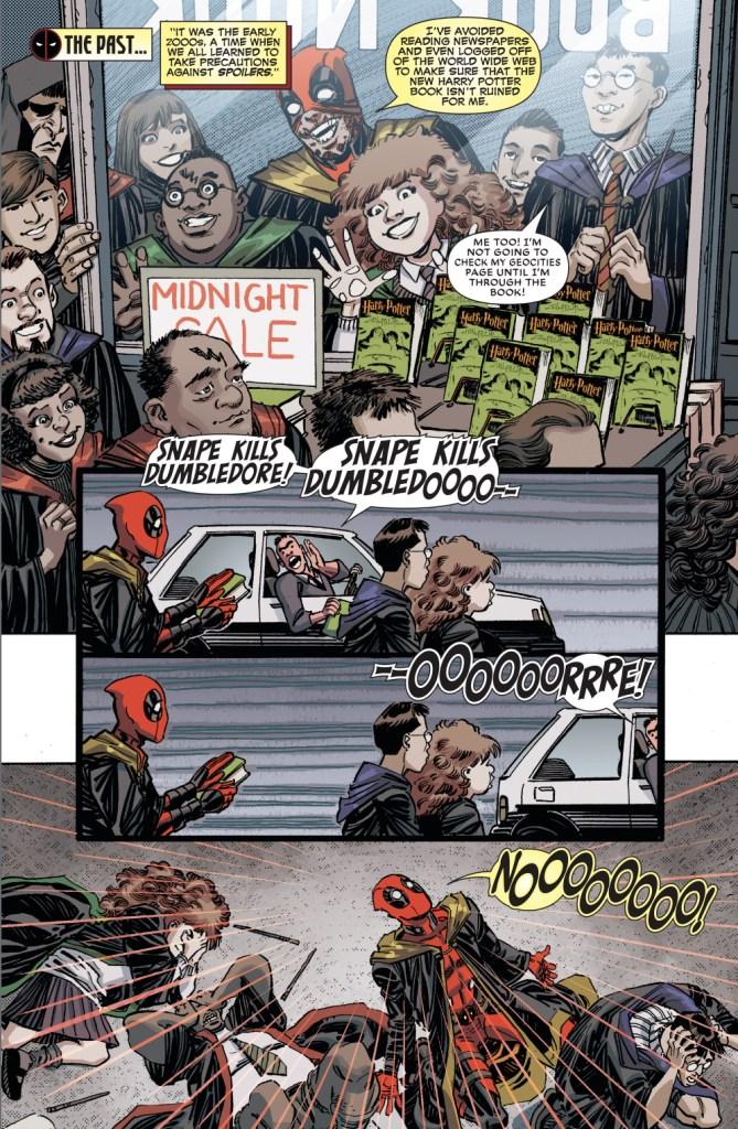 deadpool hates spoilers