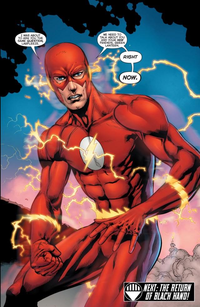 the flash (green lantern vol 4 #58)