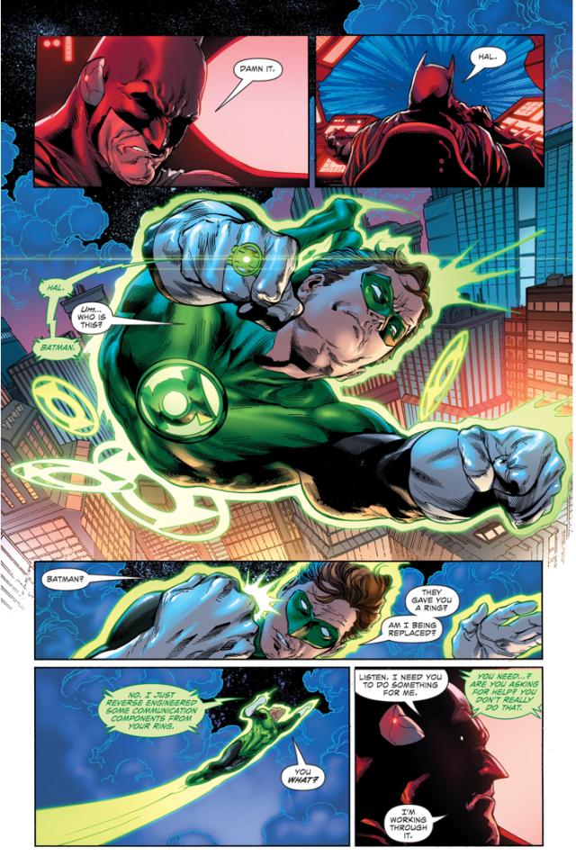 Batman Hacks Green Lantern's Ring