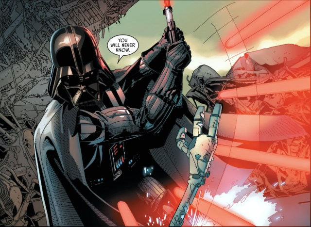 darth vader vs commander karbin