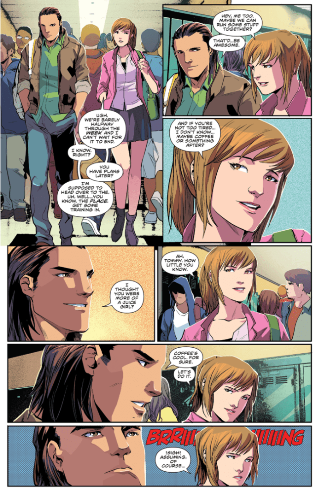 Kimberly Hart Asks Tommy Oliver Out