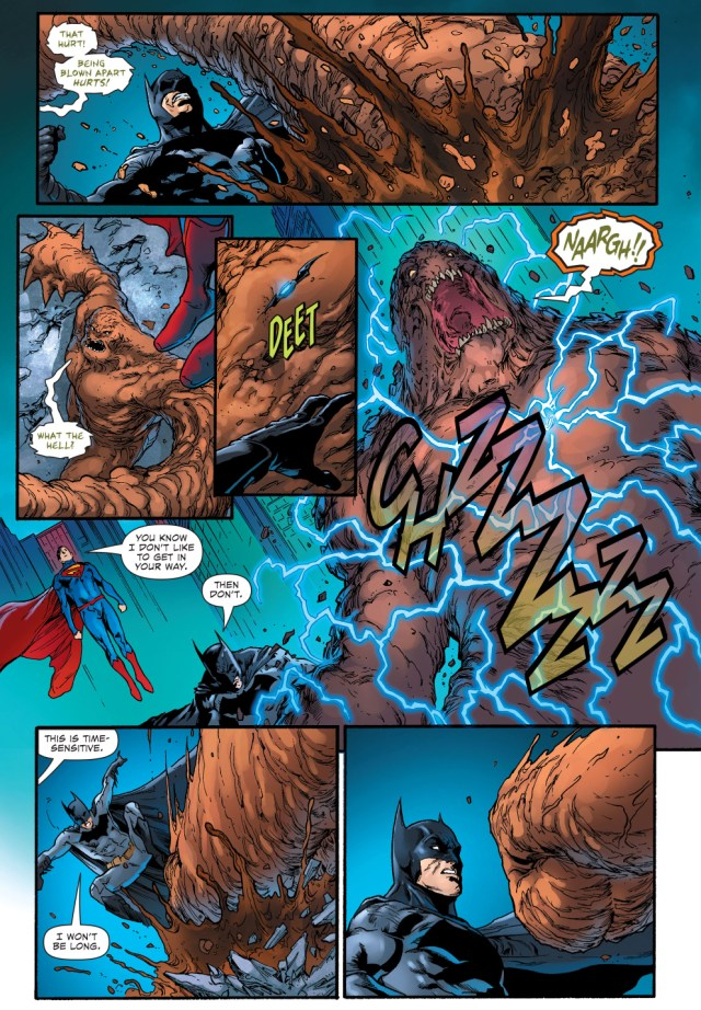 superman and batman vs clayface