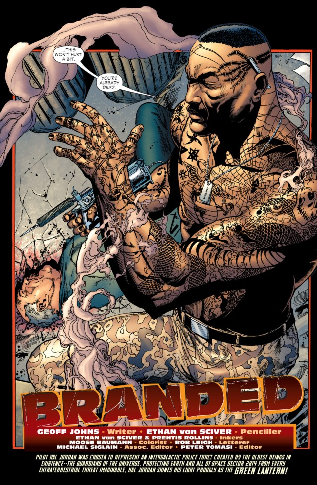 the tattooed man (green Lantern vol. 4 #9)