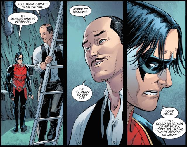 Why Alfred Thinks Batman Will Beat Superman