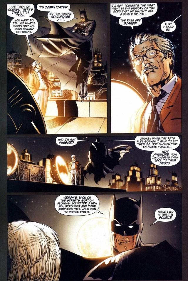 batman patrols gotham using superman's powers