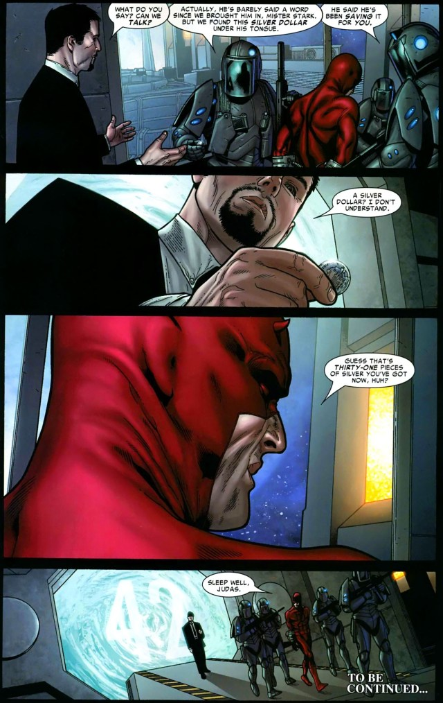 iron man puts daredevil in jail