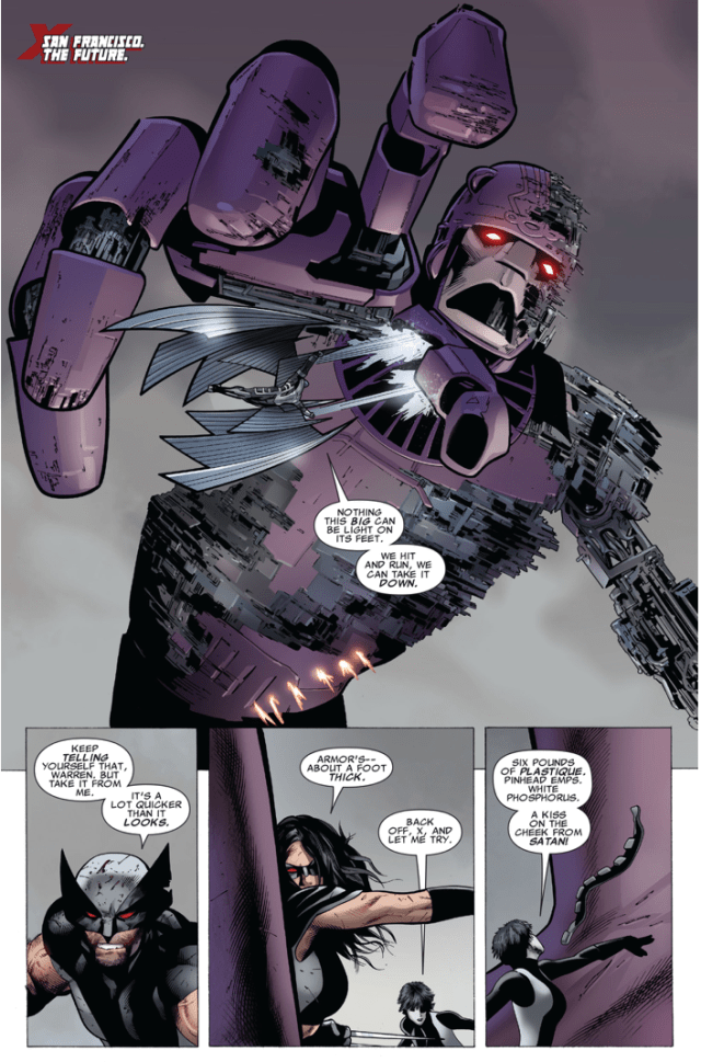 X-Force VS Master Mold (Second Coming)