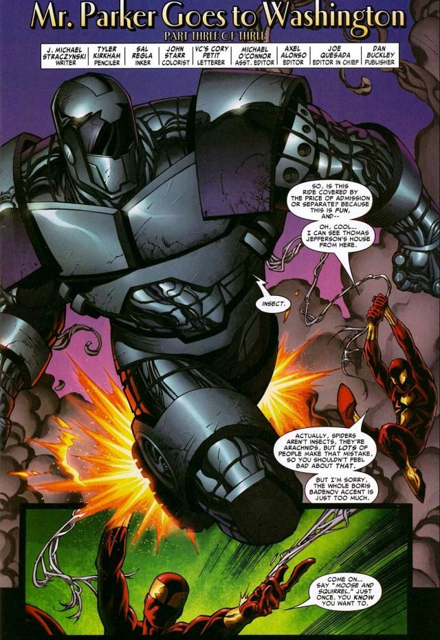 spider-man vs titanium man
