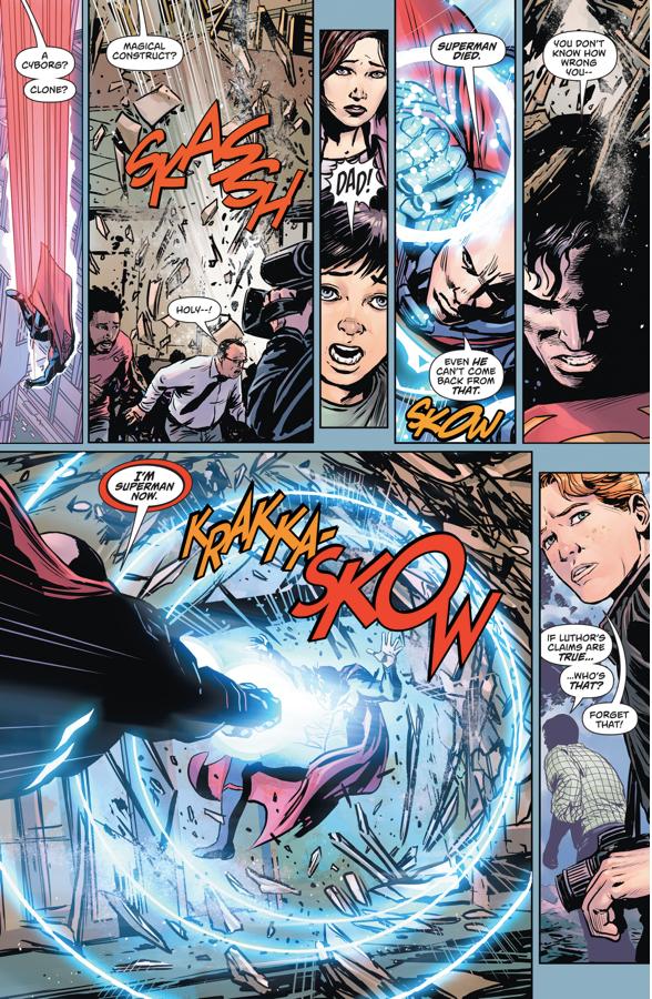 Pre-Flashpoint Superman VS Lex Luthor