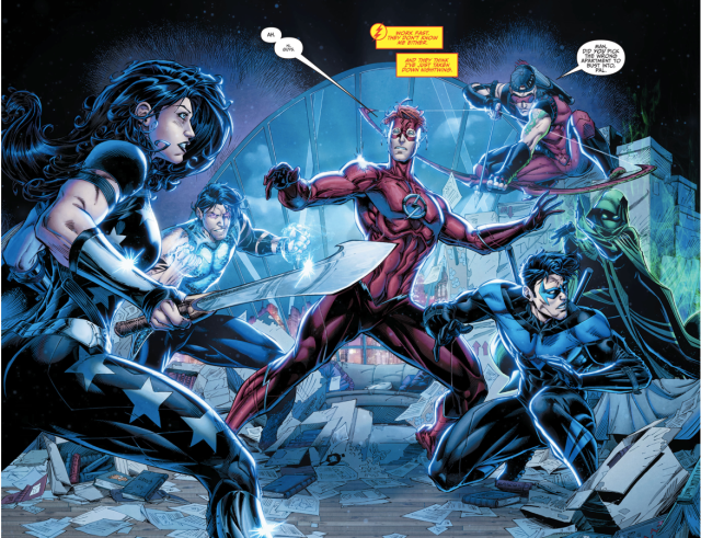 The Titans Attack Wally West (Rebirth)