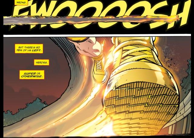 A Kandorian Cripples The Flash (The Master Race)