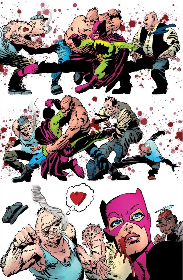 Batgirl Meets Aquaman (The Master Race)