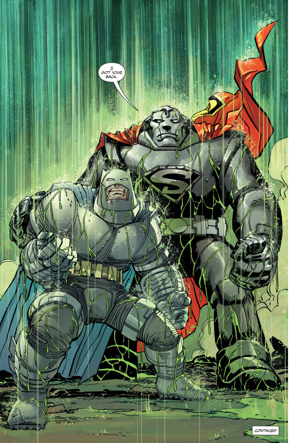 Superman And Batman Armor (The Master Race)