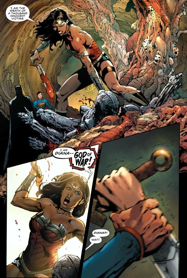 Wonder Woman's Wrath As God Of War