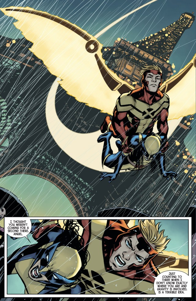 All New Wolverine And Angel Team Up