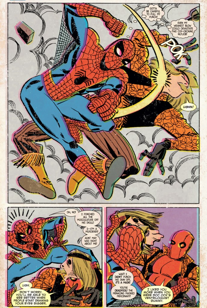 Spider-Man VS Deadpool (Retro)