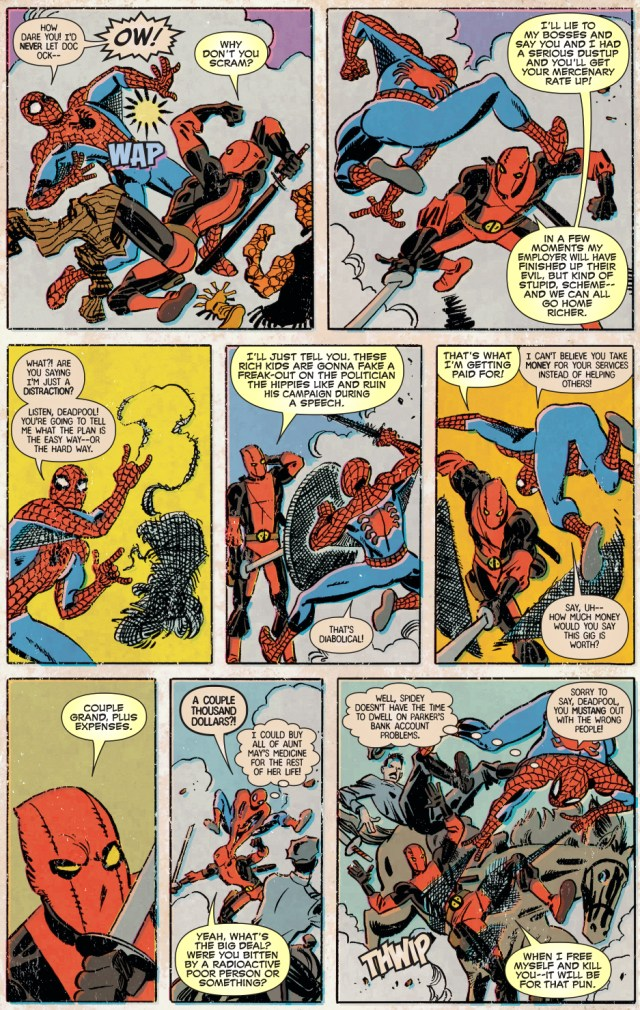 Spider-Man VS Deadpool (Retro)