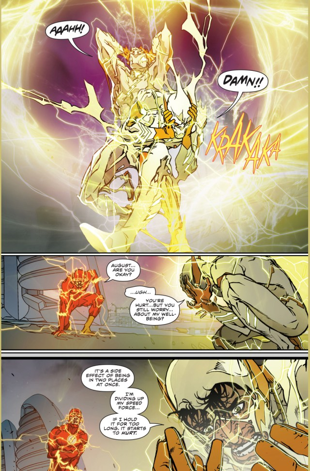The Speed Force's Side Effect For Being In 2 Places At Once