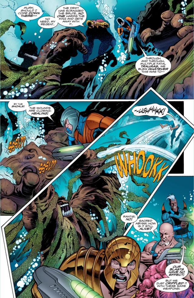 Aquaman And The Drift VS The Shaggy Man