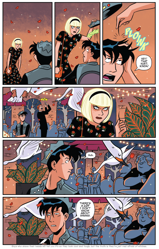 Jughead's Disastrous Date With Sabrina Spellman