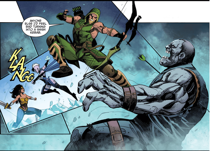 Green Arrow VS Solomon Grundy (Injustice Gods Among Us)