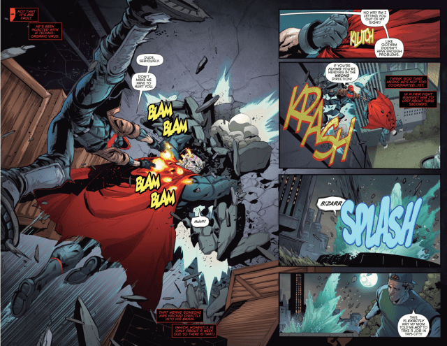 Red Hood VS Bizarro (Rebirth)