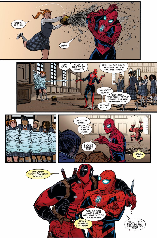 Spider Man Is Deadpool S Heartmate Comicnewbies