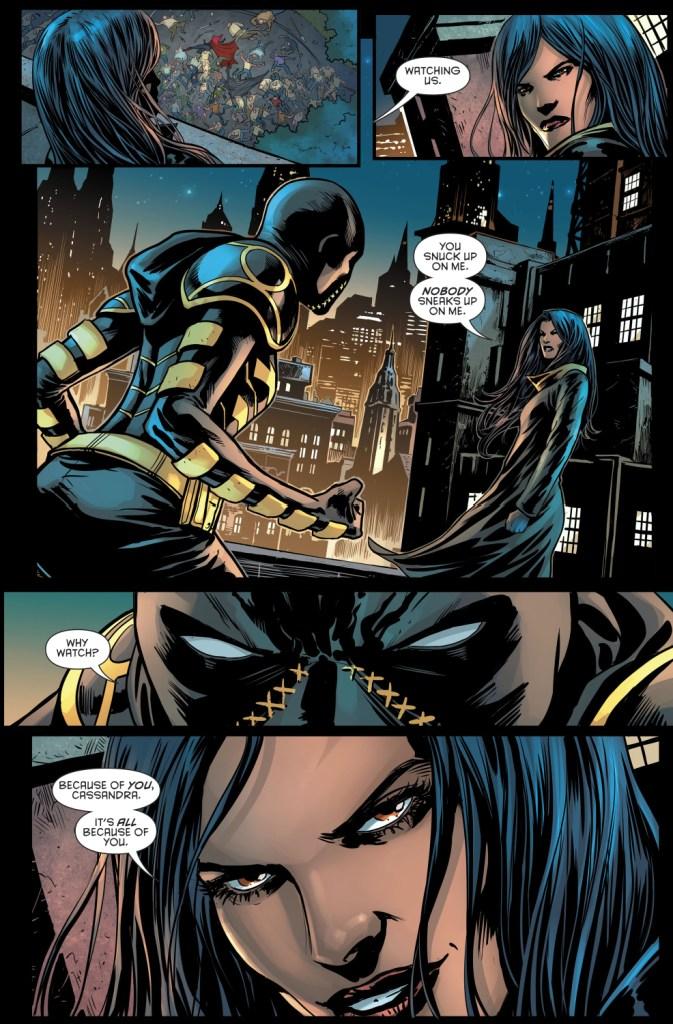 Cassandra Cain VS Shiva (Rebirth)