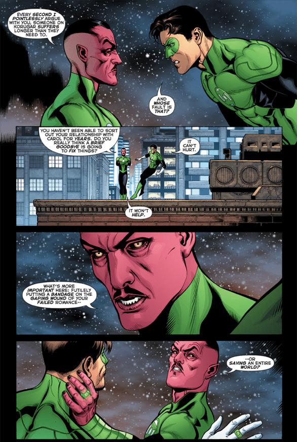 Sinestro Is Better Than Hal Jordan
