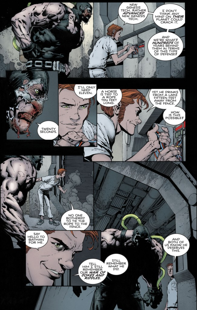 The Riddler Can Break New Genesis Locks