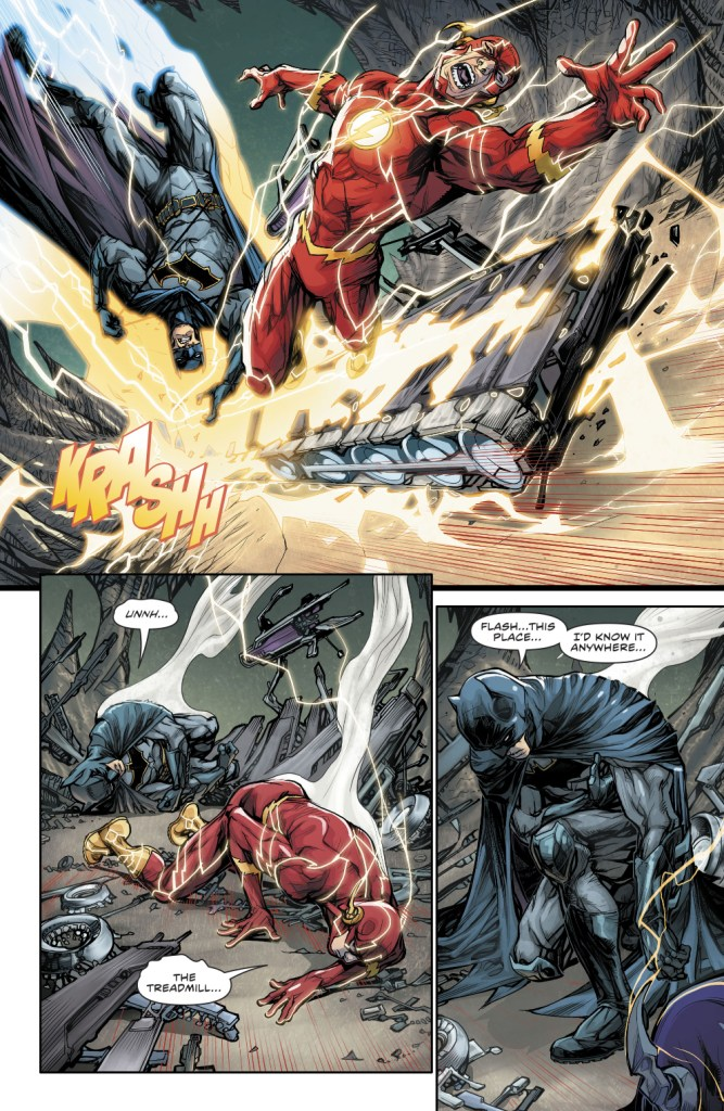 Batman Meets His Father From Flashpoint