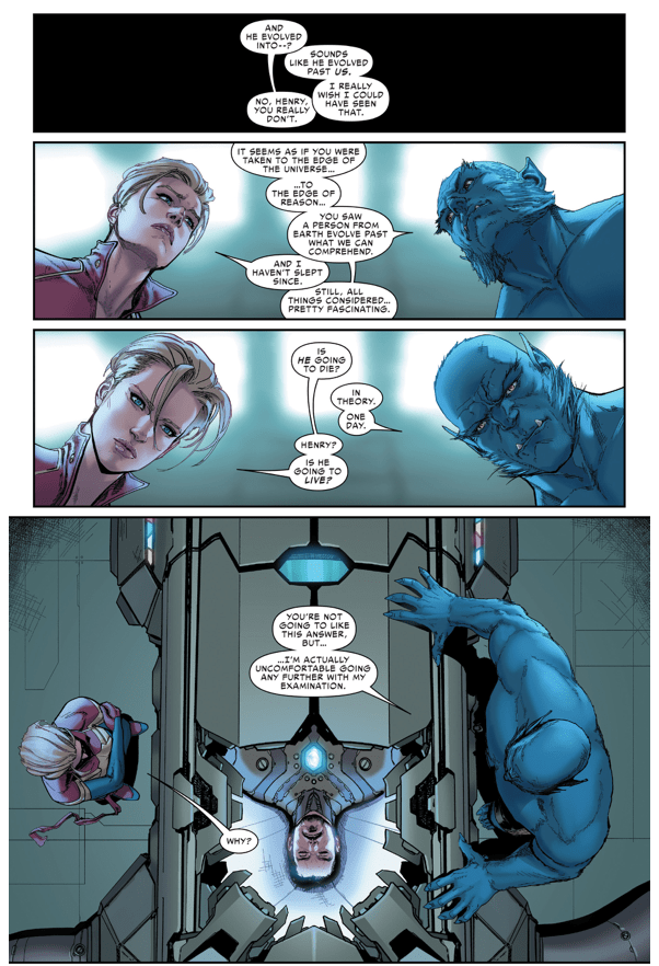 What Happened To Tony Stark After Civil War II
