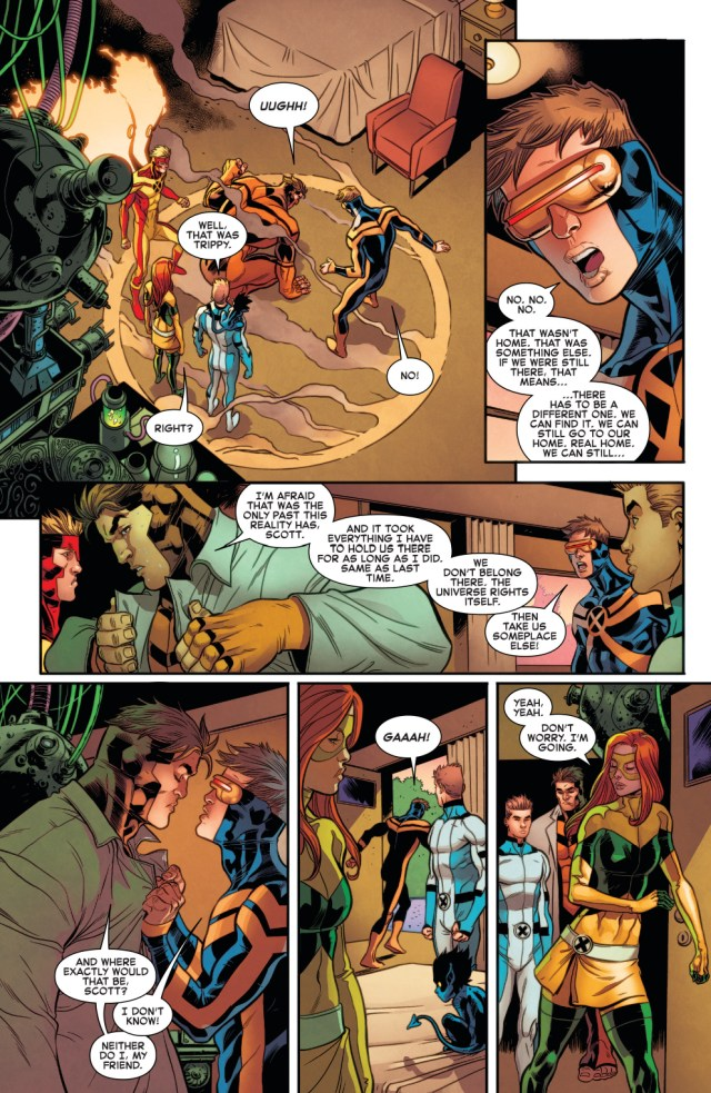 Why The Original 5 X-Men Can't Return To Their Own Time