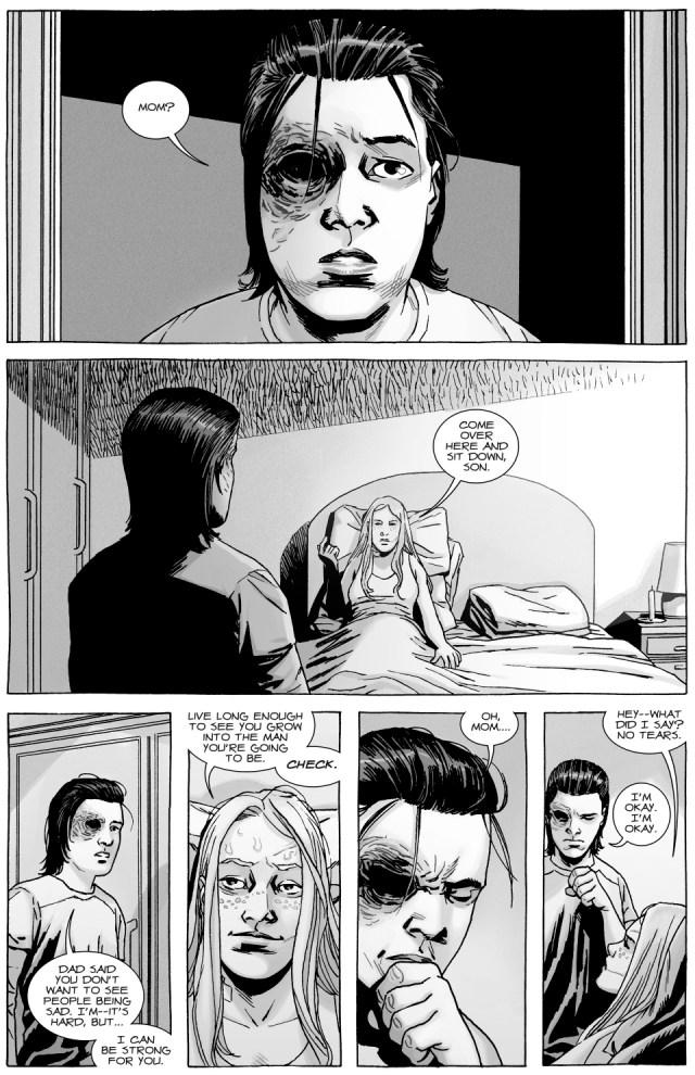 Andrea's Advice On Love (The Walking Dead)
