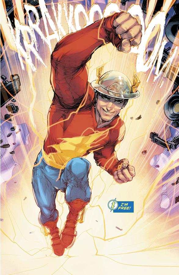 Jay Garrick Rescues The Flash And Batman (Rebirth)