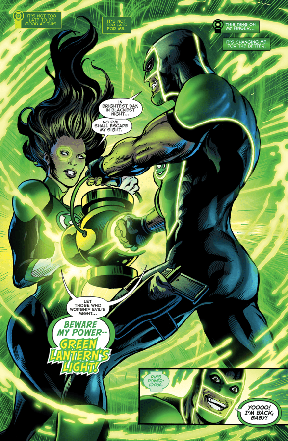 Jessica Cruz And Simon Baz (Green Lanterns #4)