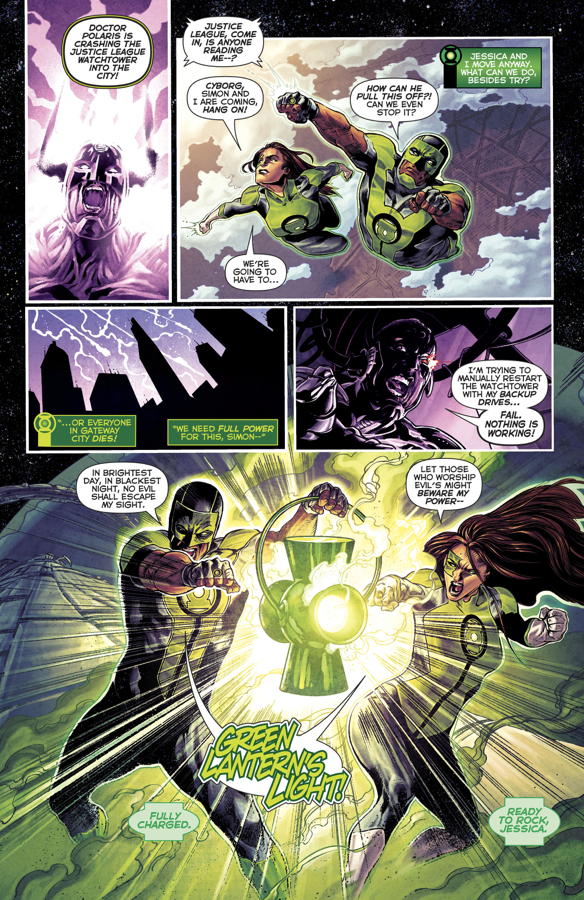 Jessica Cruz And Simon Baz Saves The Watchtower