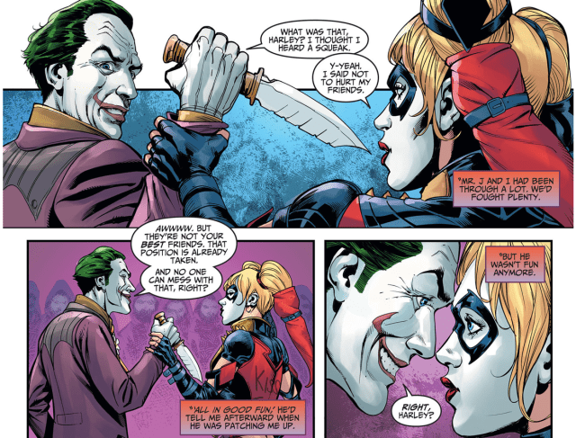 How Harley Quinn Broke Free From The Joker's Control (Injustice Ground Zero)