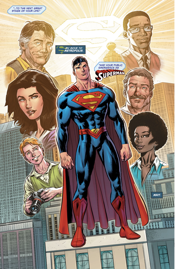 Superman And Friends (Action Comics #977)