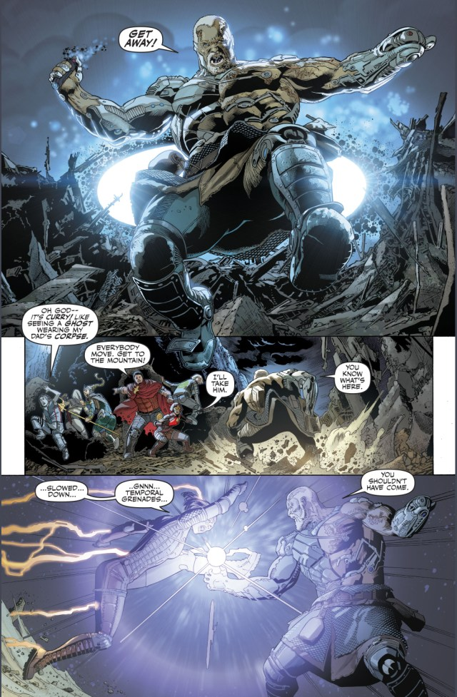 Cyborg Aquaman VS Justice League's Children