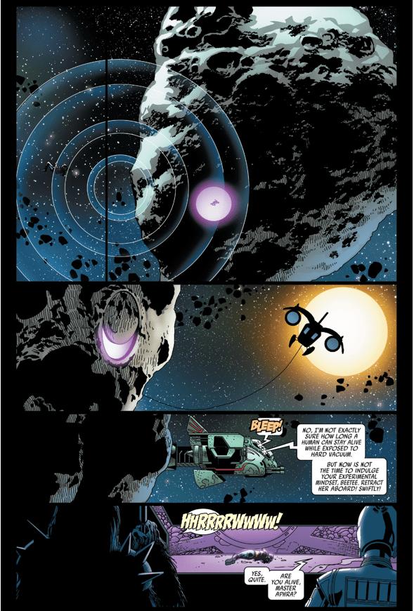 How Doctor Aphra Survived Darth Vader