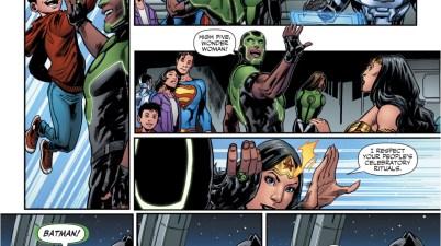 Simon Baz Tries To High Five Batman