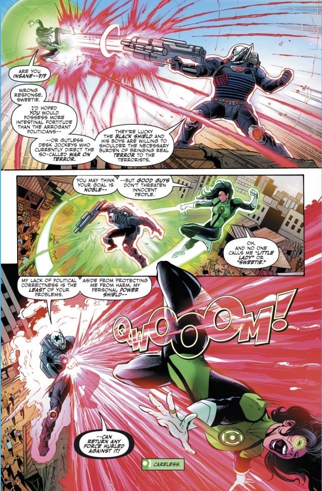 The Black Shield's Powers