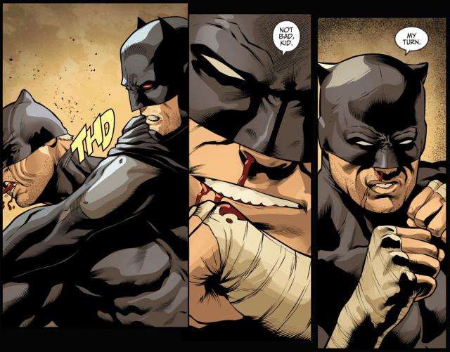 Wildcat VS Fake Batman (Injustice II)